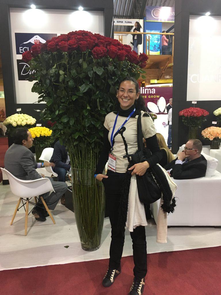Découverte de l'exposition de roses à Quito