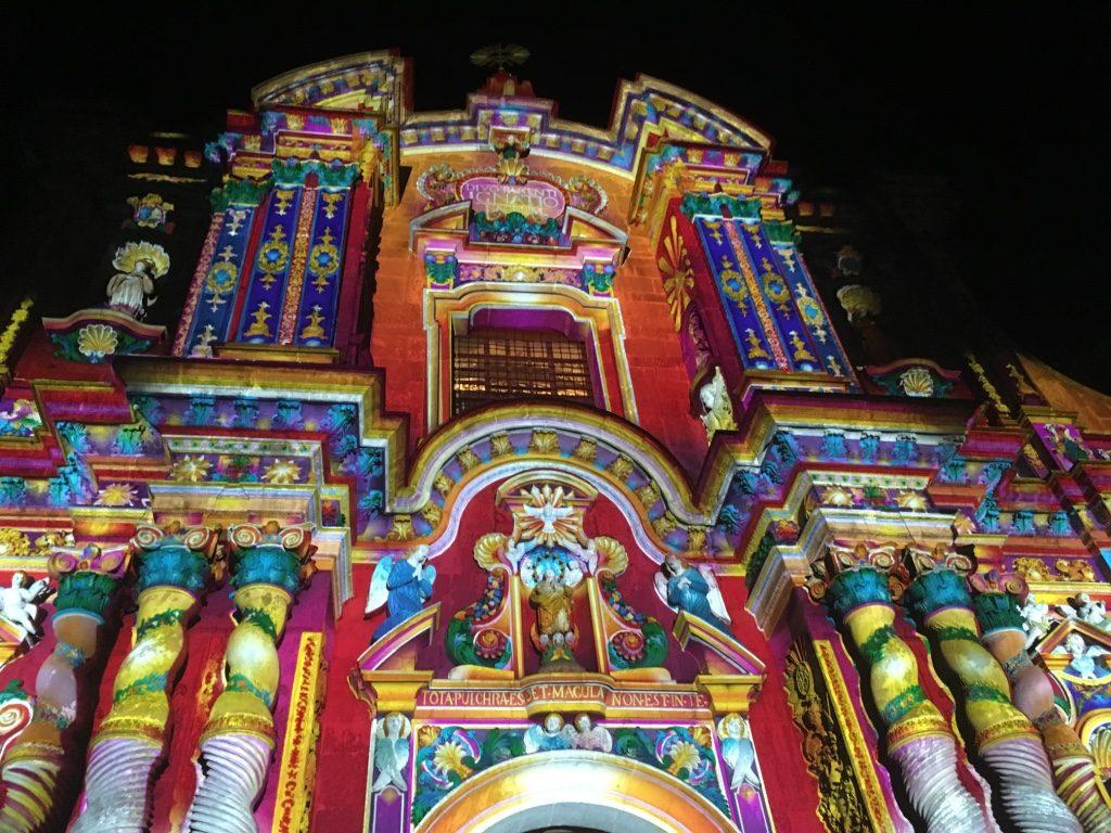 Eglise Compañia de Jesus, ornée d'or, centre historique de Quito