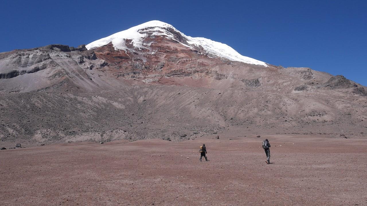 Trek des vigognes au pied du Chimborazo 7