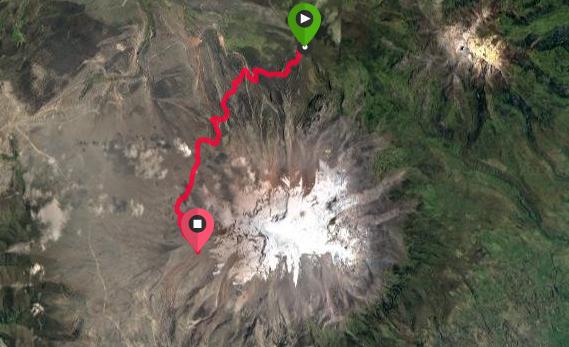 Trek des vigognes au pied du Chimborazo 6