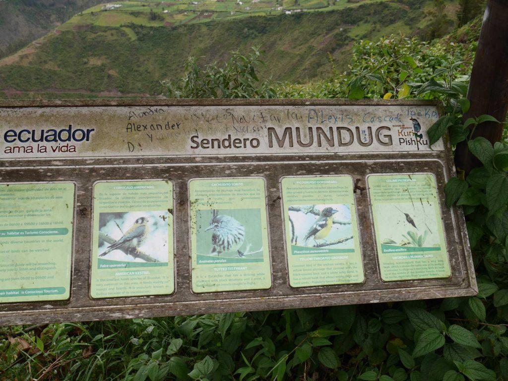 Le sentier de Mundug vous réserve une marche sympathique et sans difficulté, d'environ 1h30 aller-retour, jusqu'à la cascade