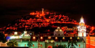 La capitale équatorienne revêt ses plus belles parures pour l'occasion