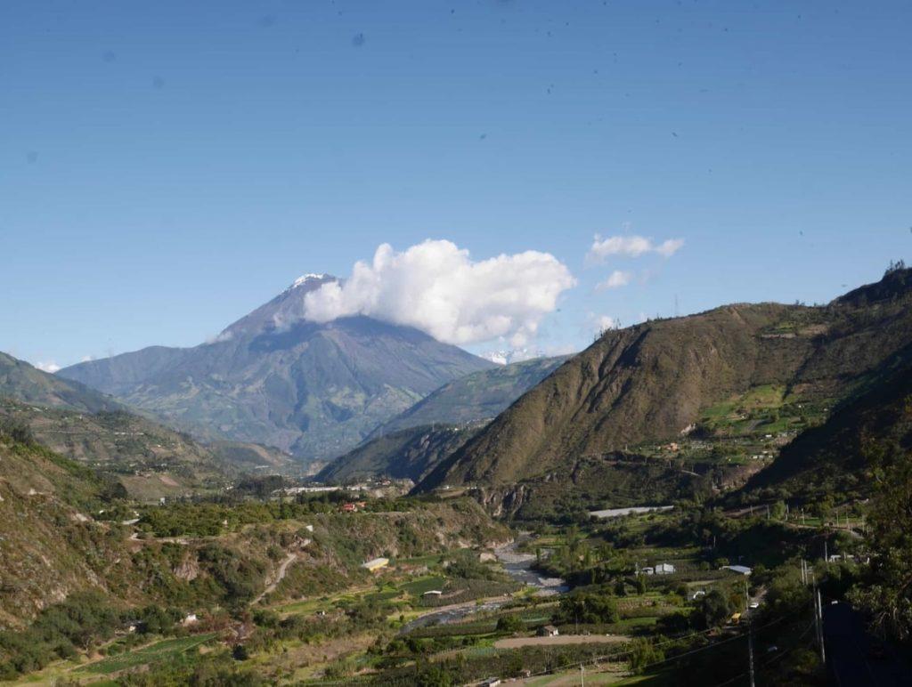La vue depuis les hauteurs du parc Llanganates