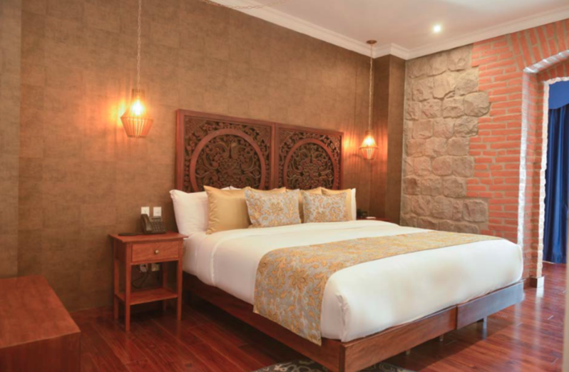 Suite Luxury Jacuzzi de l'hôtel Otavalo
