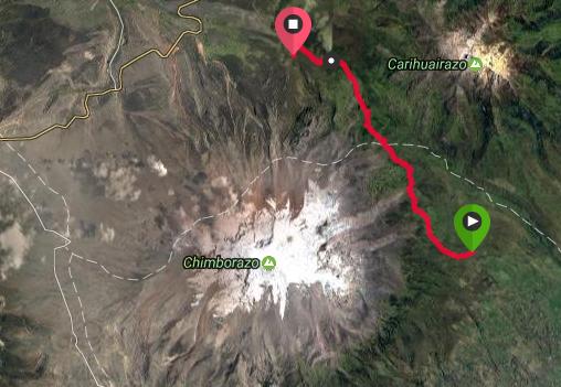 Trek des vigognes au pied du Chimborazo 2