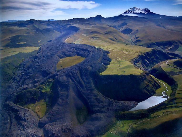 L'activité volcanique en Équateur 2