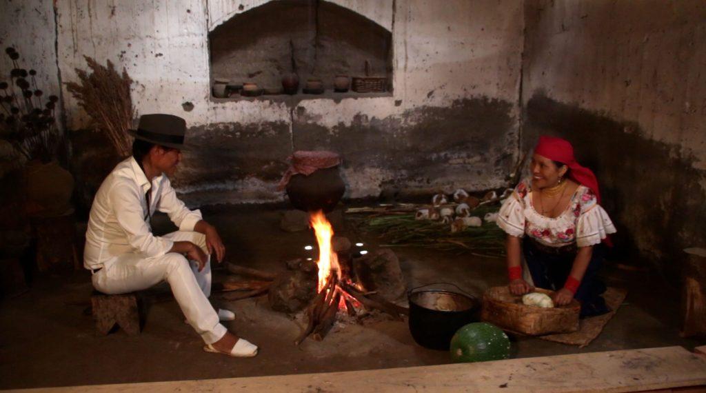 La cuisine sur Tulpa (chaudron chauffé au bois), une méthode de cuisson traditionnelle à découvrir à Kawsaymi