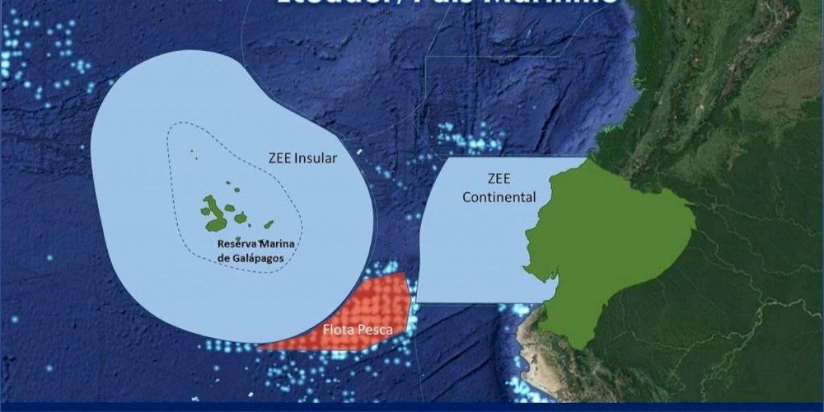 Archipel des galapagos: zone de pêche