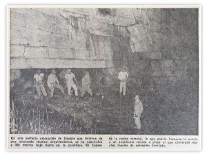 L'expedition britannique à la Cueva de los Tayos, accompagnée par Neil Armstrong, en 1976 (crédit photo: EL UNIVERSO)
