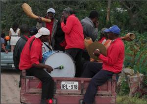 La banda mocha de la vallée de Chota, Équateur