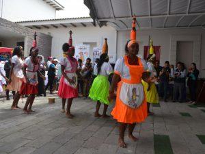 Danse Bomba vallée Chota en Équateur