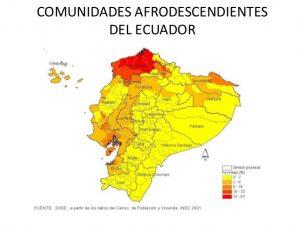 Les communautés afro-descendantes en Équateur (crédit image: Doménica Román)