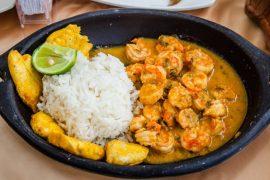 L'encocado de crevette (camaron), un plat frais et original d'Équateur