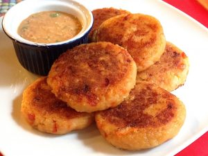 Llapingachos, galettes de pomme de terre au fromage