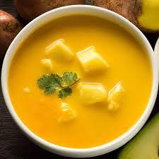 Le locro de papa ou crème de pomme de terre d'Équateur