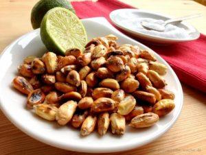 Le maïs torréfié, Tostado ou chulpi d'Équateur