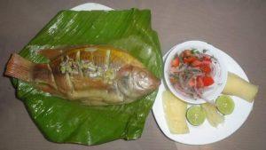 Maito de Pescado, plat typique d'Amazonie d'Équateur