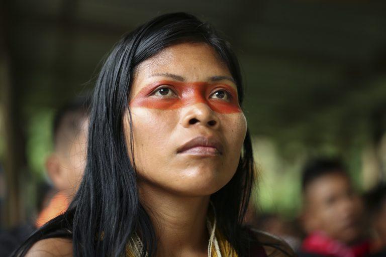Nemonte Nenquimo. Crédit photo: Jerónimo Zúñiga, Amazon Frontlines.