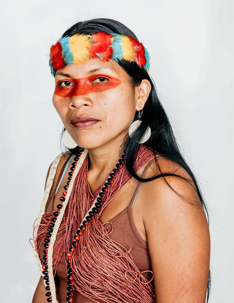 Portrait de Nemonte Nenquimo - crédit photo: New York Times