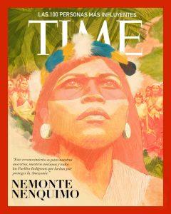 La couverture du Time 100 de septembre 2020