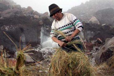 Baltazar Ushca, le dernier Hielero du volcan Chimborazo