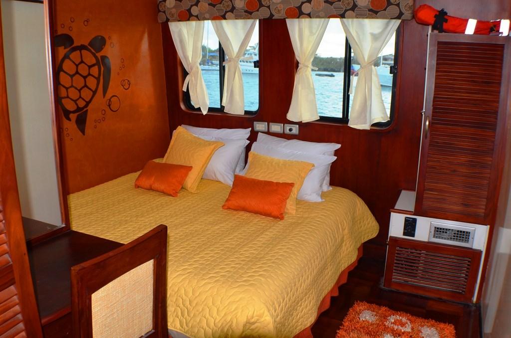 Croisière Galapagos Anahi Journey, cabine standard matrimoniale
