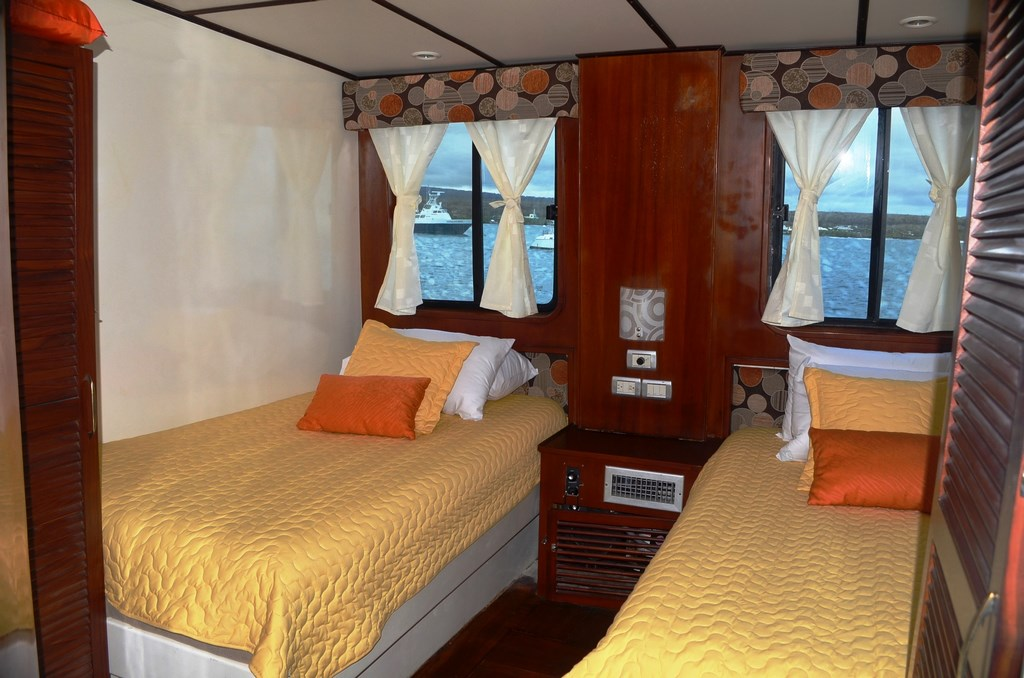 Croisière Galapagos Anahi Journey, cabine standard double