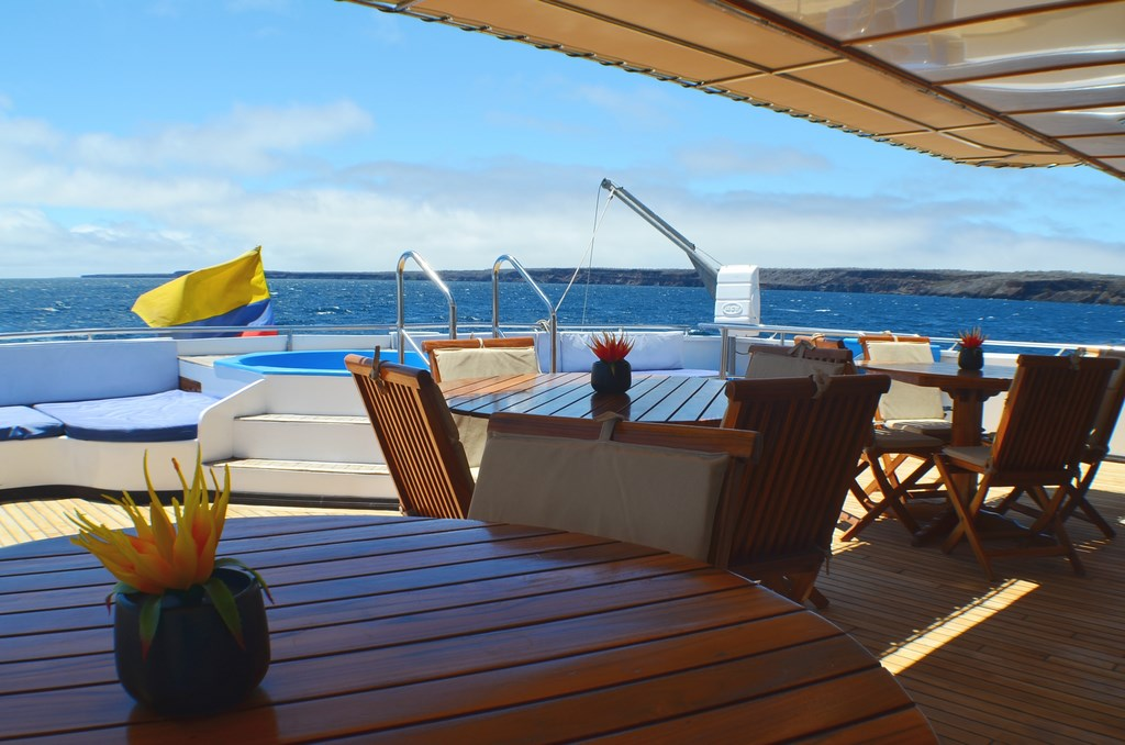 Croisière Galapagos Anahi Journey, jacuzzi