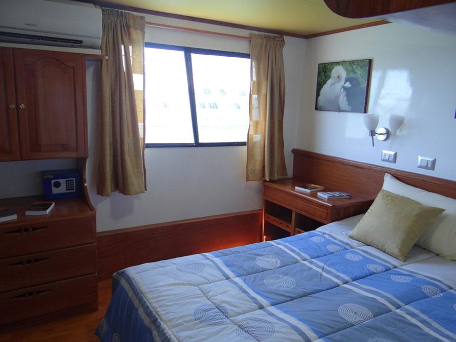 Croisière Galapagos Angelito, cabine double matrimoniale