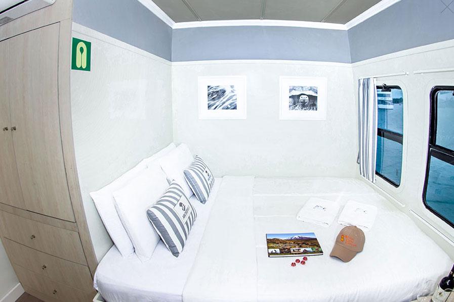 Croisière Archipel I Galapagos, cabine matrimoniale