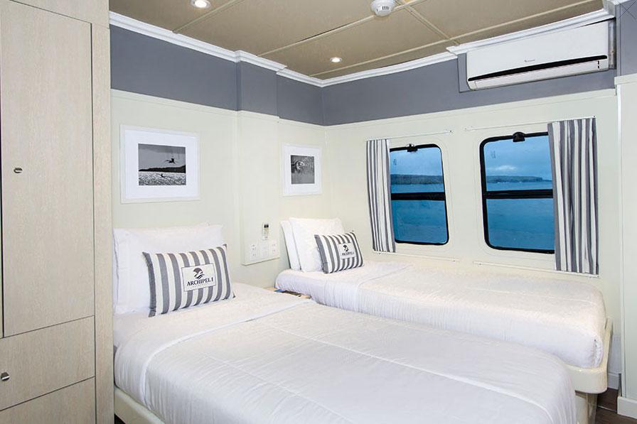 Croisière Archipel I Galapagos, cabine twin