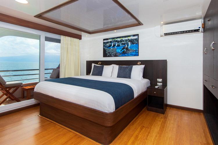 Croisière Cormorant Galapagos, cabine standard