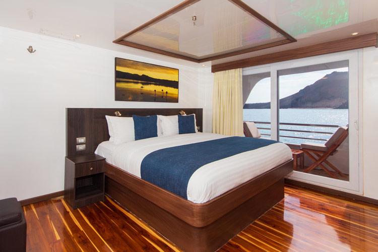 Croisière Cormorant Galapagos, cabine suite