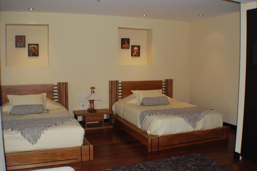 Hôtel Ikala à Quito, Equateur, chambre standard double lits jumeaux