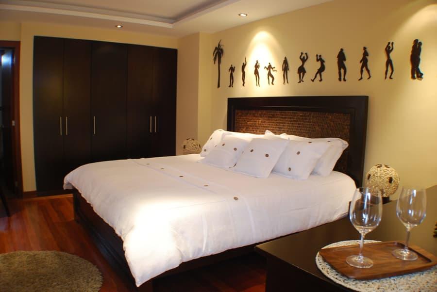 Hôtel Ikala à Quito, Equateur, suite matrimoniale noix de coco