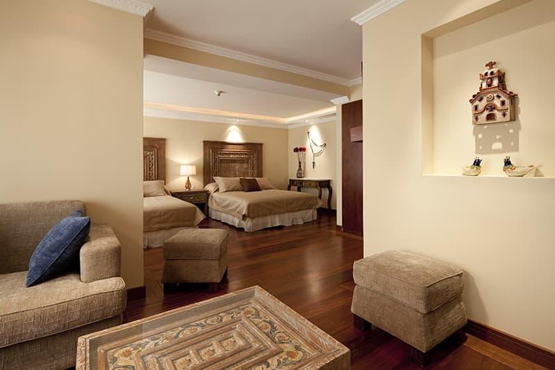 Hôtel Ikala à Quito, Equateur, suite familiale