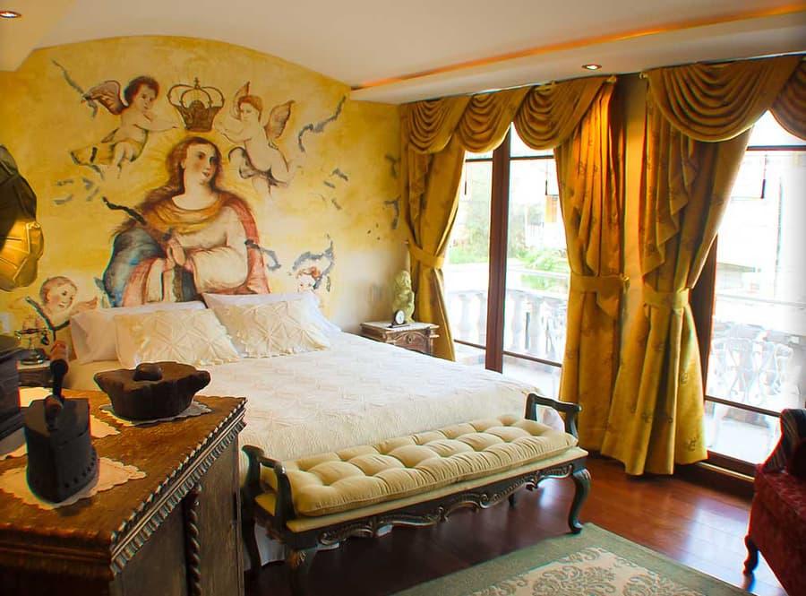 Hôtel Ikala à Quito, Equateur, suite matrimoniale