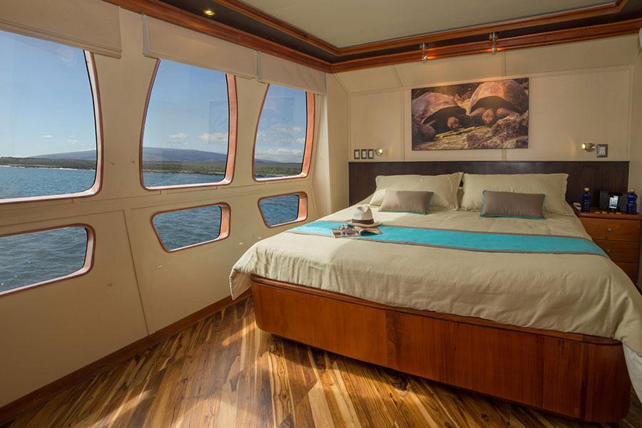 Croisière Galapagos Majestic, cabine matrimoniale