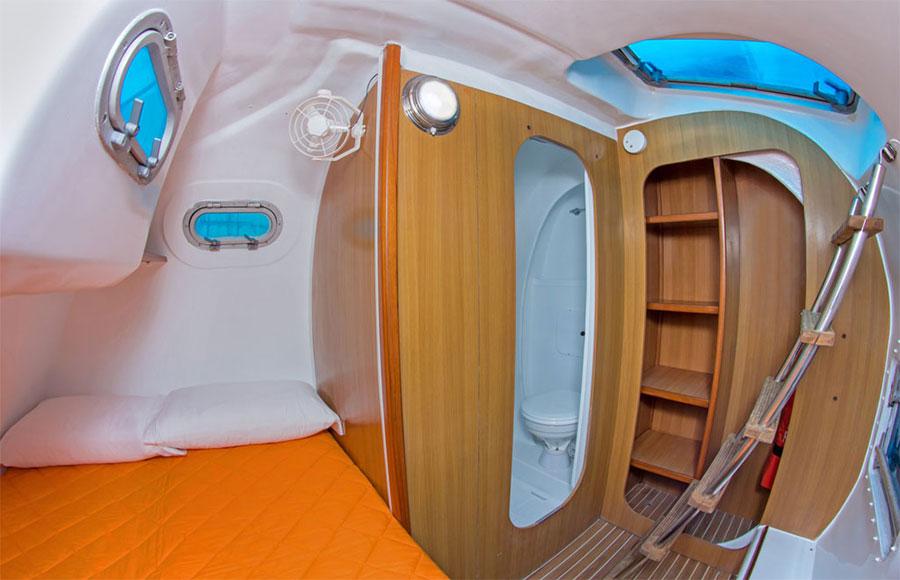 Croisière Galapagos Nemo 1, cabine double
