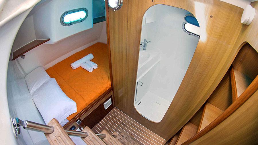 Croisière Galapagos Nemo 1, salle de bain