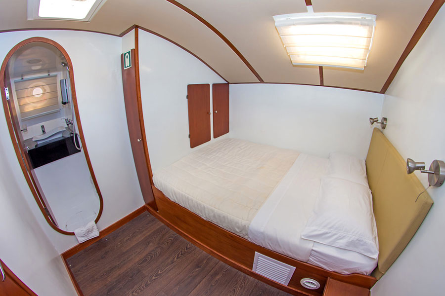Croisière Galapagos Nemo II, cabine matrimoniale