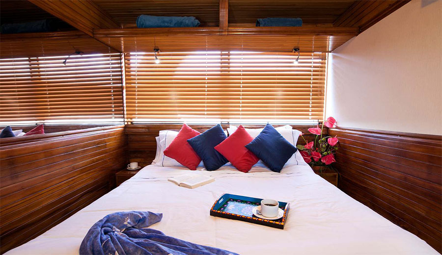 Croisière plongée Galapagos Aggressor, cabine double
