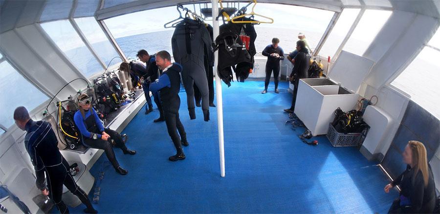 Croisière plongée Galapagos Aggressor, matériel