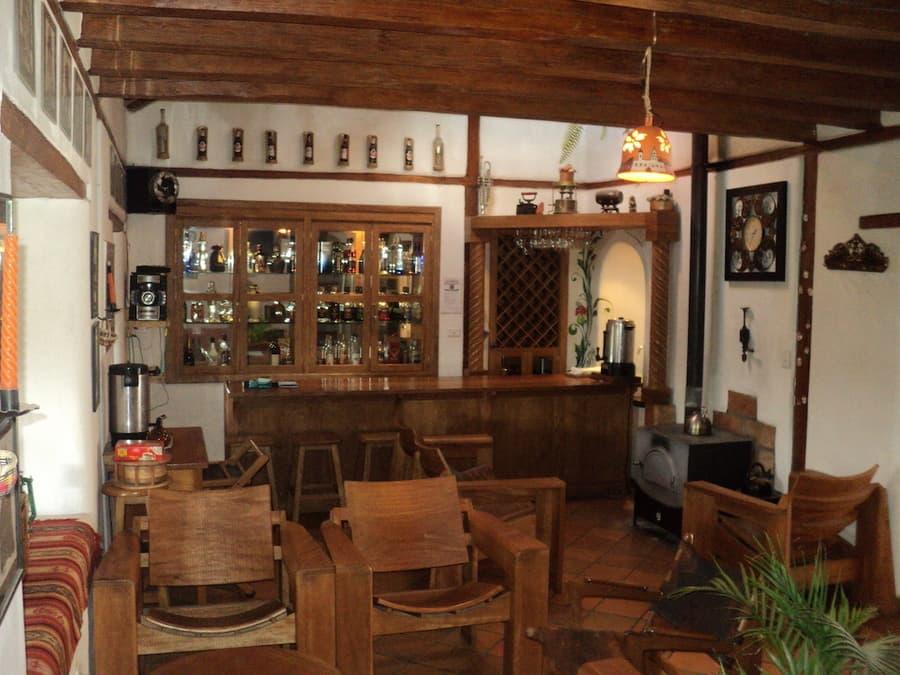 Hôtel Auberge Mama Hilda, Chugchilan près de la lagune Quilotoa, Equateur, bar