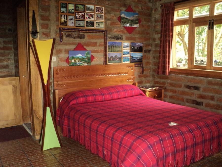 Hôtel Auberge Mama Hilda, Chugchilan près de la lagune Quilotoa, Equateur, chambre double matrimoniale