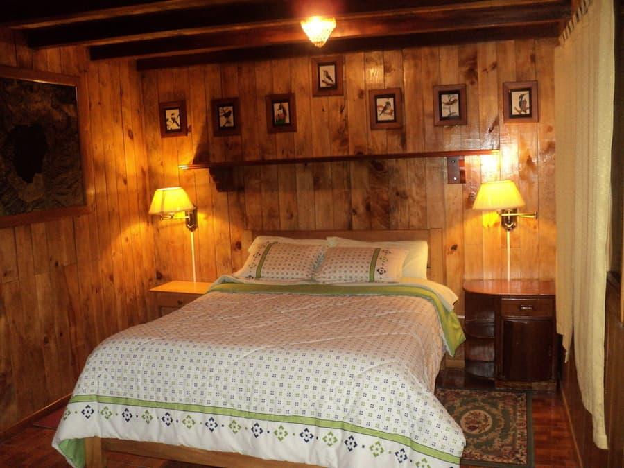 Hôtel Auberge Mama Hilda, Chugchilan près de la lagune Quilotoa, Equateur, chambre double couple