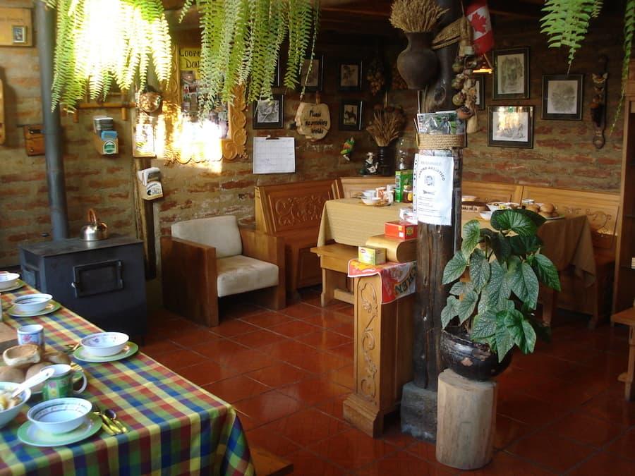 Hôtel Auberge Mama Hilda, Chugchilan près de la lagune Quilotoa, Equateur, salle à manger