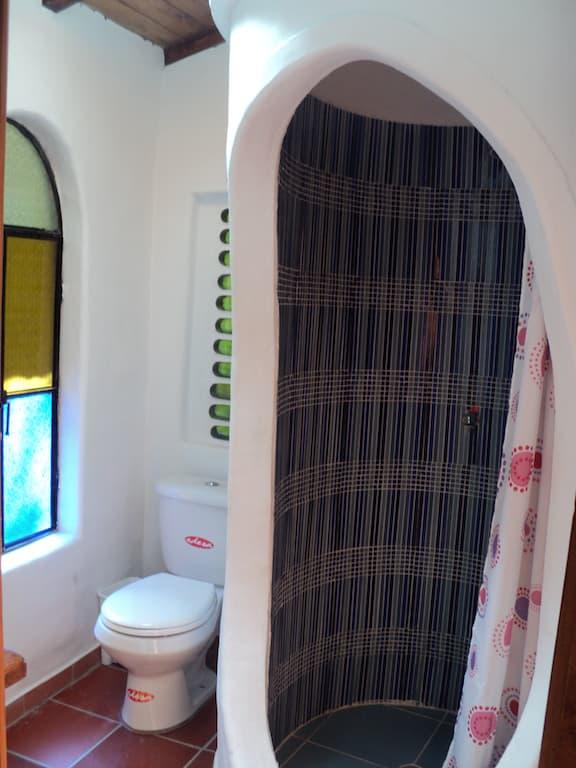 Hôtel Auberge Mama Hilda, Chugchilan près de la lagune Quilotoa, Equateur, salle de bain