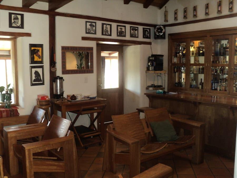 Hôtel Auberge Mama Hilda, Chugchilan près de la lagune Quilotoa, Equateur, salle de repos