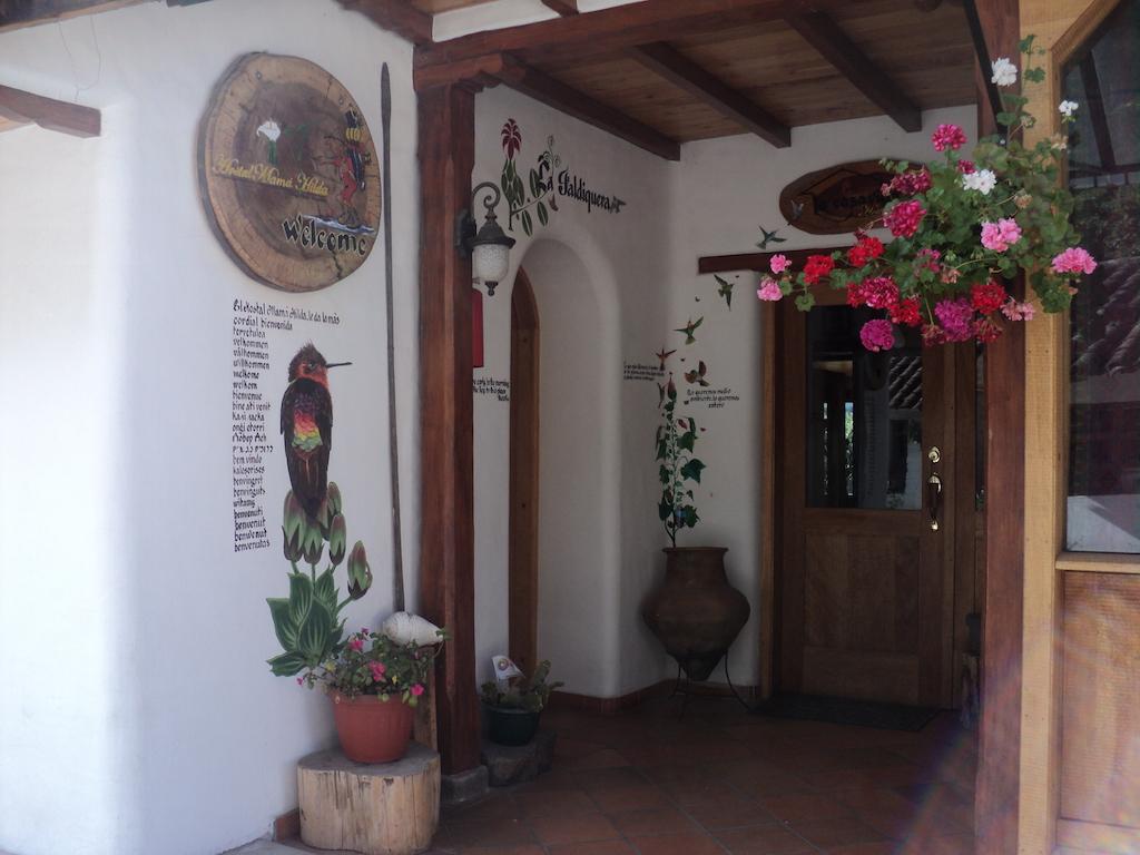 Hôtel Auberge Mama Hilda, Chugchilan près de la lagune Quilotoa, Equateur, entrée principale